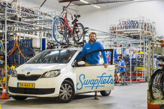 20 werkplekken in nieuwe Swapfiets-werkplaats