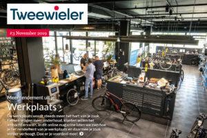 Nieuw van Tweewieler: online magazine over de werkplaats